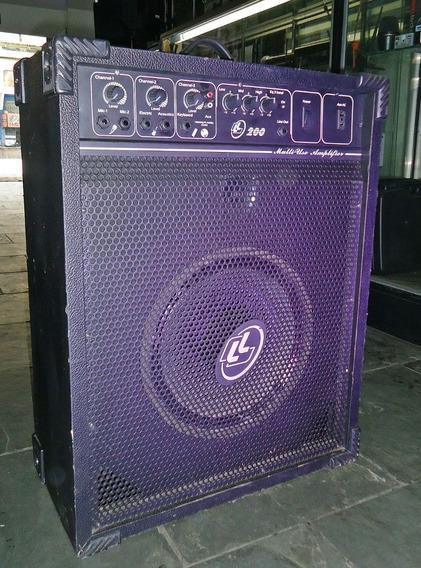 Caixa Ativa Multiuso Ll Audio 200 Melhor Preço Frete Gratis