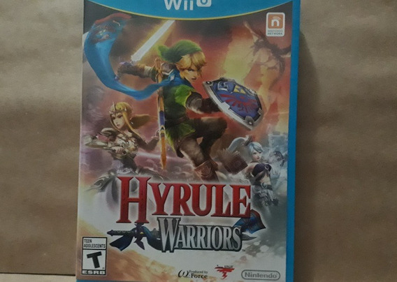 Jogo Hyrule Warriors (nintendo Wii U)