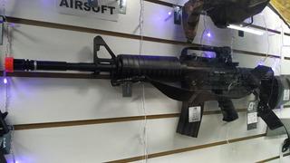 Airsoft Colt Fuzil M4a1 Combat Arma Eletrica Muito Forte !!!