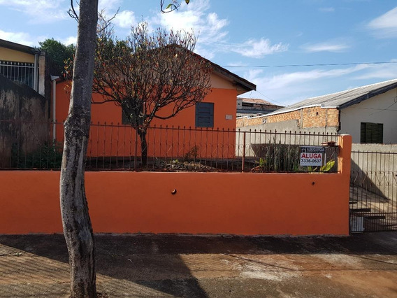 Casa Com 2 Dormitórios Para Alugar Por R$ 600/mês - Conjunto Habitacional Violim - Londrina/pr - Ca0443