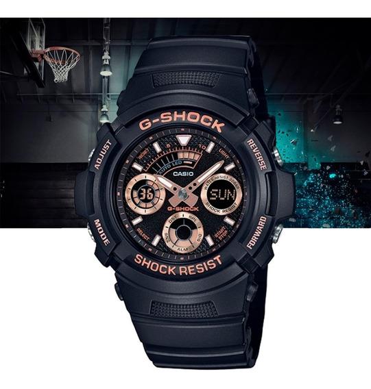 Relógio Casio G-shock Analógic Digital Aw-591gbx-1a4dr Preto