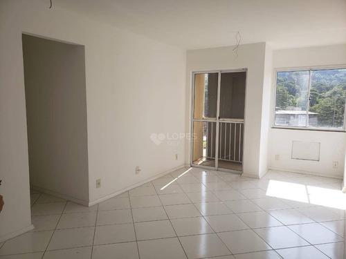 Apartamento Com Sacada Na Sala E Nos 2 Quartos, 62 M² Por R$ 230.000 - Santa Bárbara - Niterói/rj - Ap46551