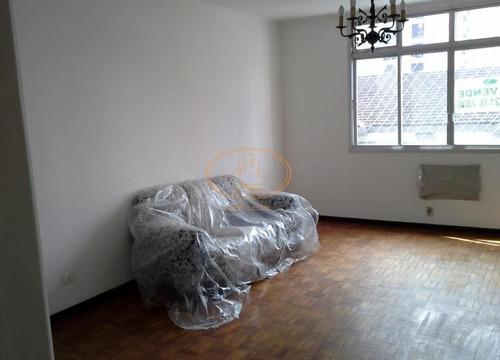 Apartamento  Com 3 Dormitório(s) Localizado(a) No Bairro Gonzaga Em Santos / Santos  - 5344