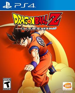 Dragon Ball Z: Kakarot Para Ps4 Fisico Nuevo Sellado