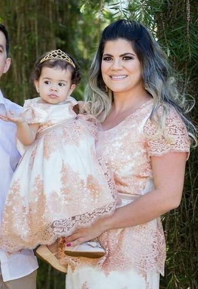Vestido Realeza Luxo Mãe E Filha