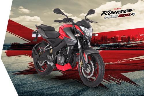 Bajaj Ns 200 Fi  H/250 Sin Interes  Ahora 12 Cycles Motoshop