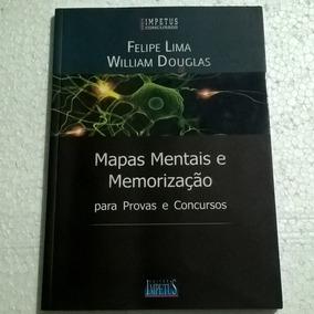 Livro Mapas Mentais E Memorização - Para Provas E Concursos