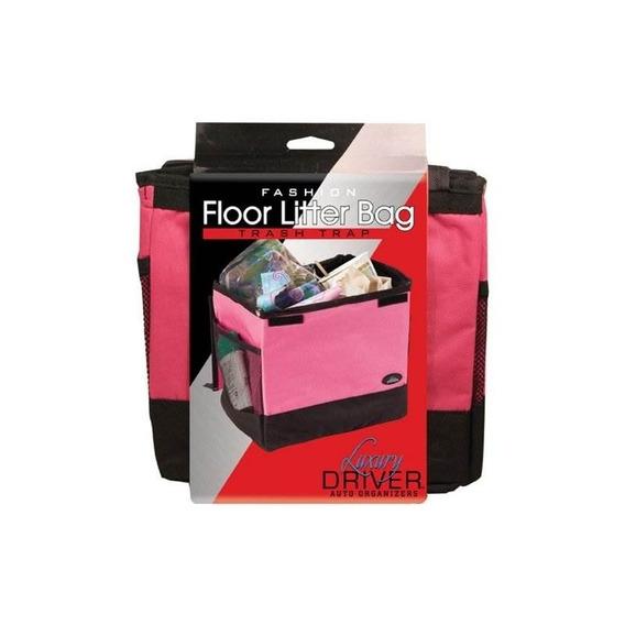 Luxury Driver 12483 Pink Fashion Floor Litter Bag Trash Trap