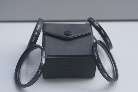 Filtro Close-up 49mm +1 - +2 - +4 - + Uv