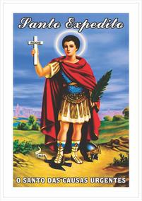 Santinho Santo Expedito (1000 Peças) - 1 Milheiro