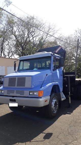 Caminhão M.benz L1621 Com Munck Rodomaq 35.000 Ano 2014