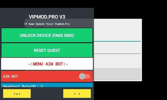 2 Hack Fre Fire Vip Mod (android E Emulador) 100% Antiban Hs