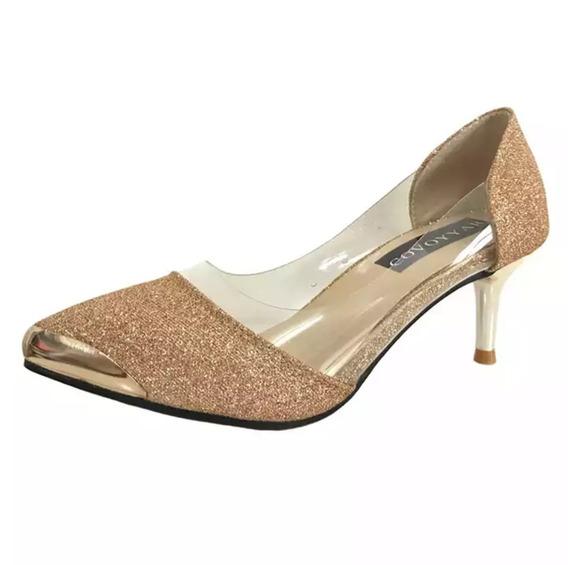 Sapato Dourado Para Festa