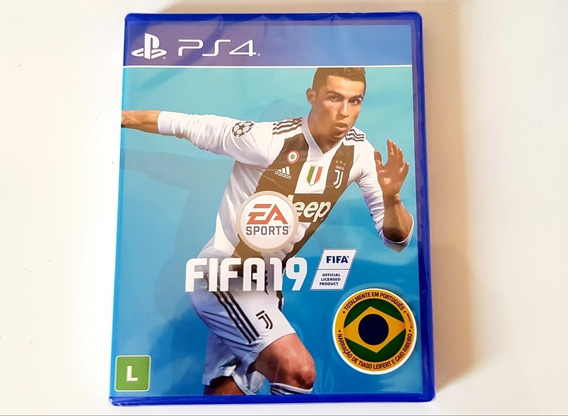 Game Fifa 2019 - Playstation 4 Mídia Física