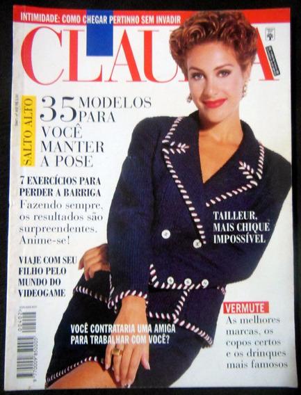 Revista Cláudia Nº 402 Março 1995 Winona Ryder Fausto Silva