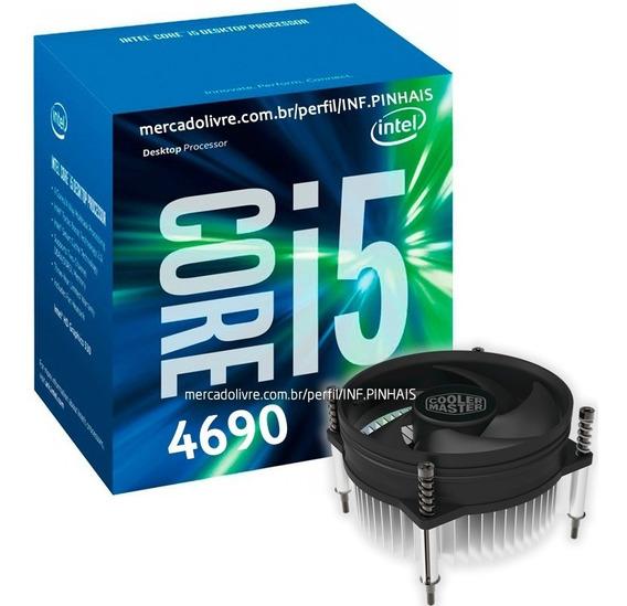 Processador Intel Core I5 4690 3.5 - 3.9ghz 1150 Com Cooler