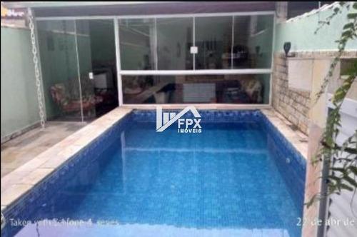 Casa Em Piscina Em Itanhaém, Lado Serra Ca265-f