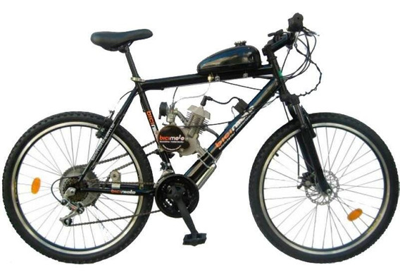 Bicicleta Motorizada 80cc 2 Tempos - Bicimoto - Aço Hi-ten
