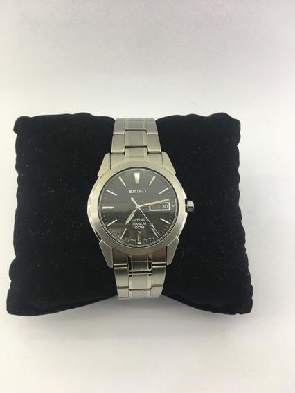 Relógio De Pulso Seiko Titânio Sapphire Ref: Sgg731b1