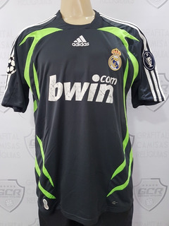 Gcr06 Camisa Oficial Real Madrid 2007/2008 Casillas G 76x56