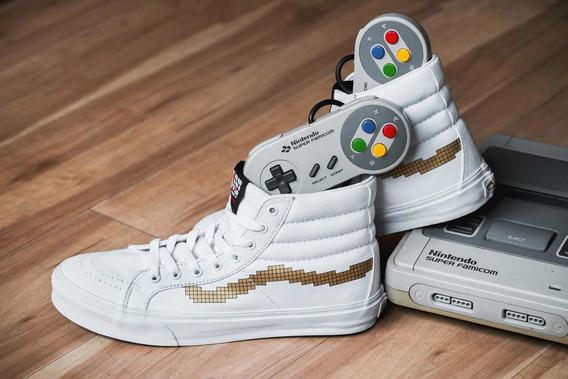 Vans X Nintendo Sk8-hi Slim - Únicas