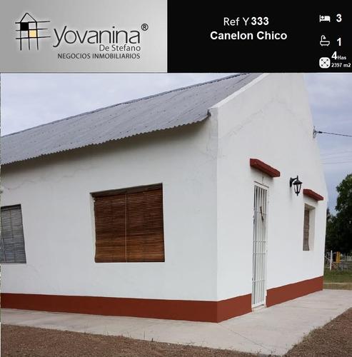 4 Has Con Casa En Canelón Chico Ref Y333