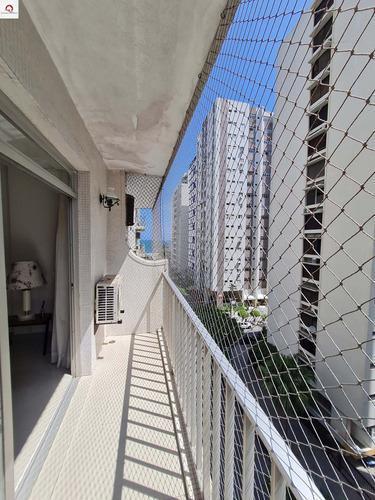 Apartamento Dispondo De 68m² - Quadra Do Mar - 3 Dormitórios  (1 Suíte) - Sala Para 2 Ambientes - 1 Vaga De Garagem - Ap05587 - 68993790