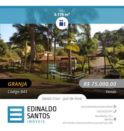 Imagem 1 de 10 de Edinaldo Santos - Condomínio Parque Da Cachoeira, Granja De 3.170 M2 - 843