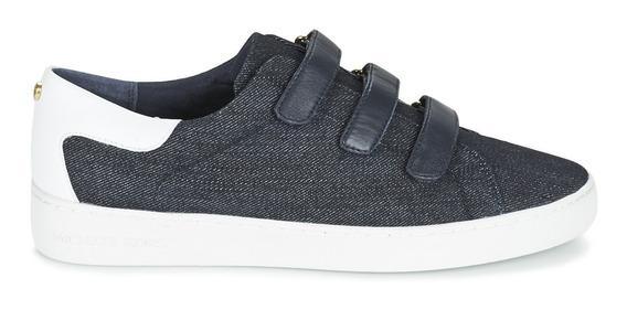 Zapato Michael Kors Craig Sneaker Azul Mezclilla Original