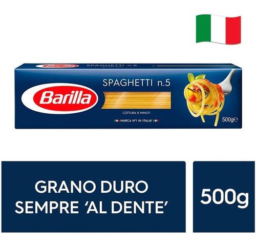 Fideos Italianos Pasta Barilla - Spaghetti 500g