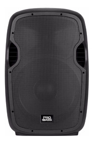Caixa Som Ativa Pro Bass 15 Polegadas Usb Mp3 Bluetooth