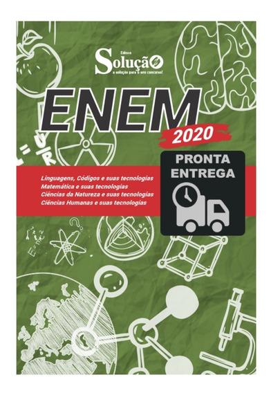 Apostila Enem 2020 Exame Nacional De Ensino Médio Livro