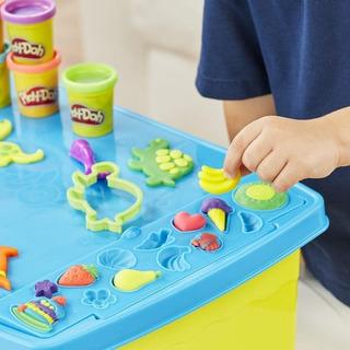 Mesa Para Plasticina Play-doh + 25 Artículos+ Set 6 Colores