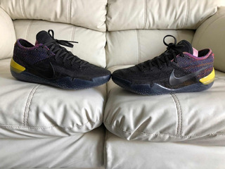 Tenis Nike Kobe Bryant 360 Black Yellow Del 26mx 8us