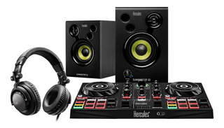 Controlador Hercules Dj Learning Kit