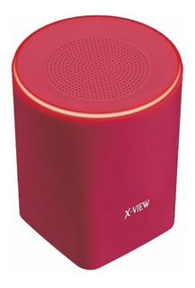 Parlante Bluetooth X-view Backbone 3w Manos Libres Rojo
