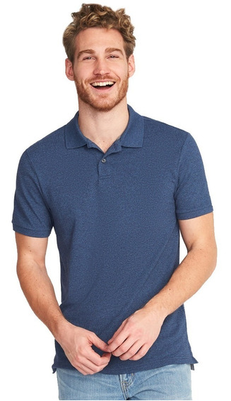Playera Hombre Tipo Polo Manga Corta Stretch 204658 Old Nay