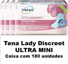 Tena Lady Discreet Ultra Mini Caixa Com 180 Un.