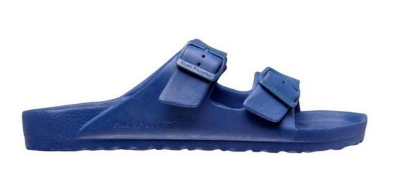 Ojotas Modelo Sand Azul De Hombre, Hush Puppies- Originales