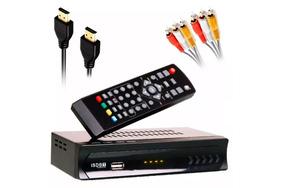 Conversor Digital Set Top Box Receptor Tv Digital Gravador