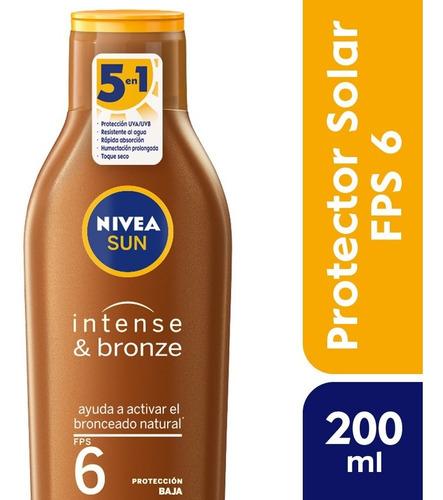 Nivea Sun Bronceador Protect & Bronze Fps 6