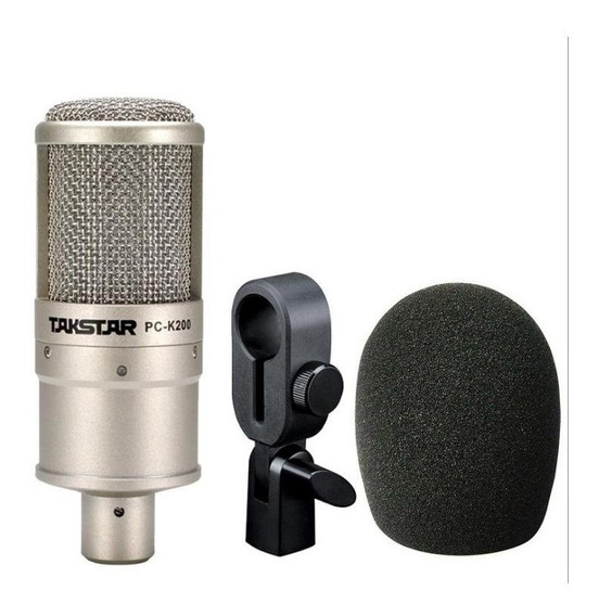 Microfone Condensador Taksta Pc K200