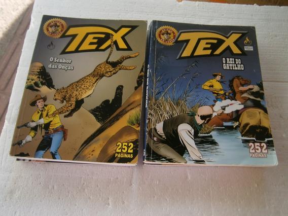 Tex Ediçao Em Cores Pacote Com 8 Revistas