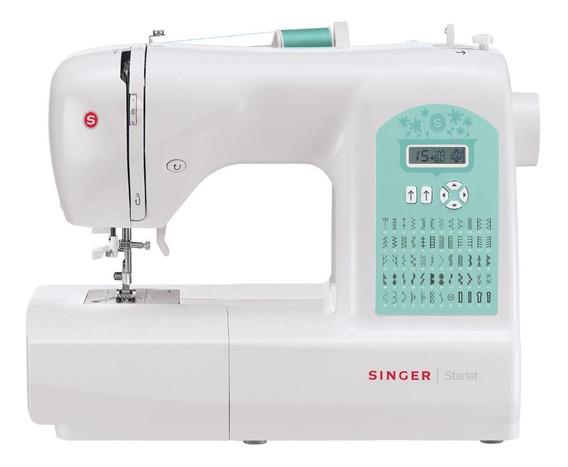 Máquina de costura Singer Starlet 6660 Branco/Verde 110V