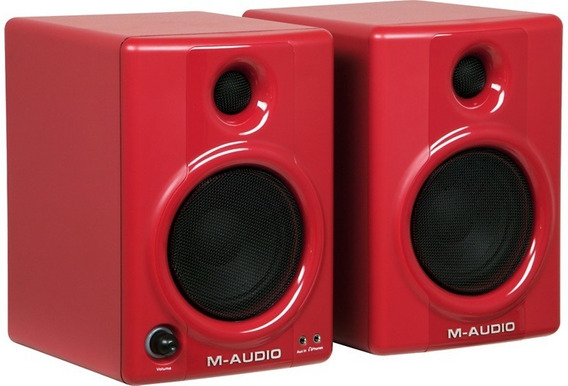 Monitor M-audio Studiophile Av 40 Red Edition