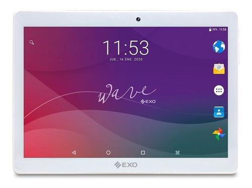 """Imagen 1 de 2 de Tablet  EXO Wave I101L 10.1"""" con red móvil 16GB blanca con 2GB de memoria RAM"""