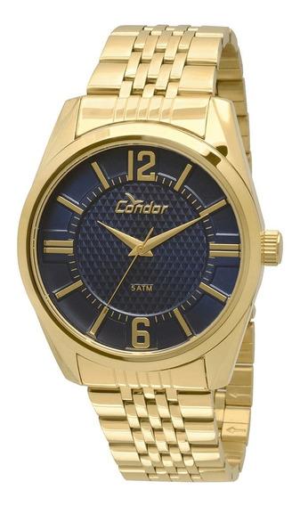 Relógio Condor Dourado Masculino Co2036dc/4a