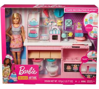 Barbie, Cocina Y Crea Chef, Pasteles Masitas