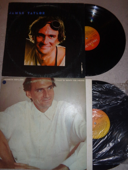 2 Lps James Taylor
