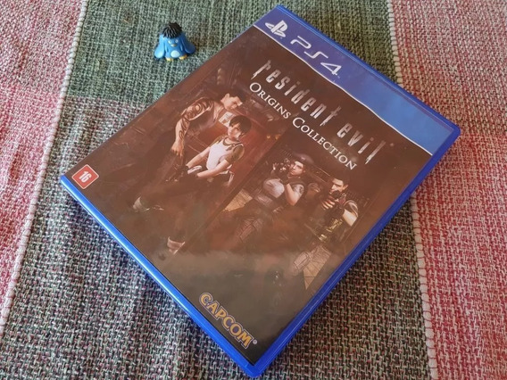 Ps4 Resident Evil Origins Collection Original Midia Fisica